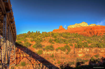 Photograph - Midgley Bridge View Of Steamboat Rock by LeeAnn McLaneGoetz McLaneGoetzStudioLLCcom