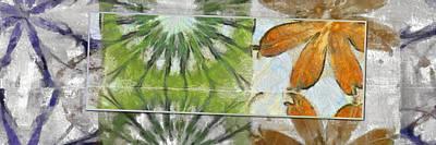 Tenn Painting - Midirons Consistency Flower  Id 16165-203813-91591 by S Lurk