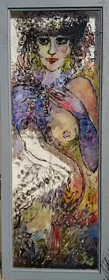 Painting - Midji by Mykul Anjelo
