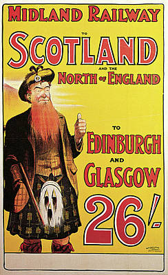 Photograph - Midland Railway To Scotland And The North Of England by Andrew Murray
