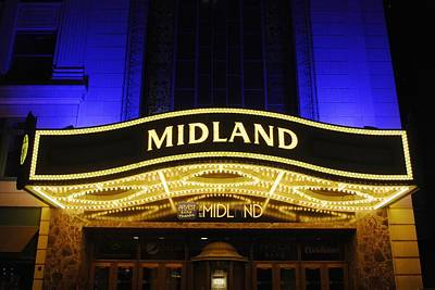Photograph - Midland Theater by Matt Harang