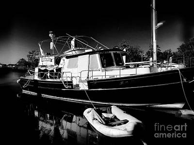 Photograph - Midnight At The Marina by Luther Fine Art