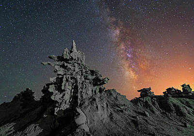 Photograph - Midnight At Fantasy Canyon. by Johnny Adolphson