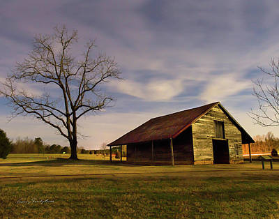 Photograph - Midnight At The Mule Barn by George Randy Bass