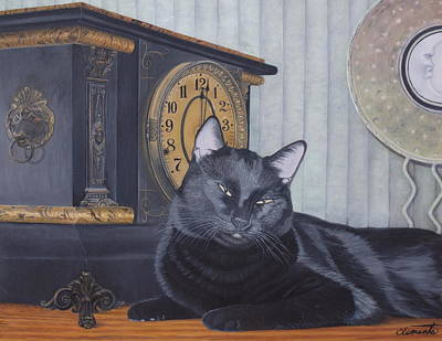 Painting - Midnight by Barbara Barber