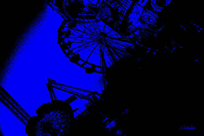 Photograph - Midnight Carnival by Nathan Little