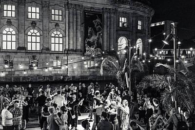 Midnight Dancing Art Print by Ute Herzog