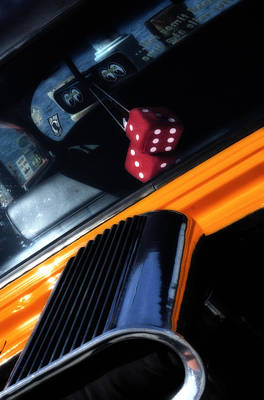 Photograph - Midnight Dice In A Hot Rod by Michael Hope