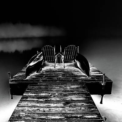 Photograph - Midnight Dock by David Patterson