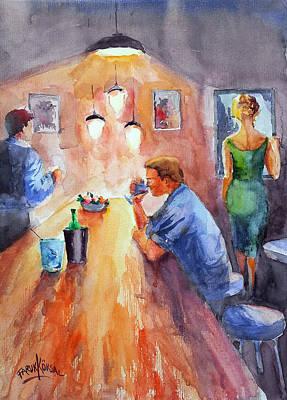 Painting - Midnight... by Faruk Koksal