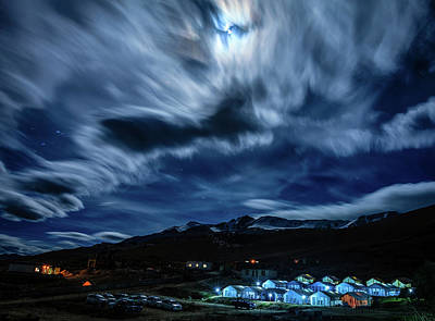 Photograph - Midnight In Himalayas by Alexey Stiop