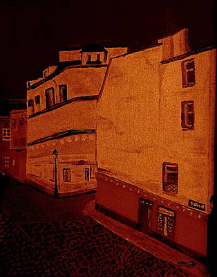 Painting - Midnight In Montmatre by Bill OConnor