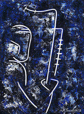 Painting - Midnight Jazz With Ben Webster by Kamil Swiatek