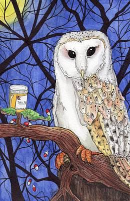 Midnight Meds Art Print