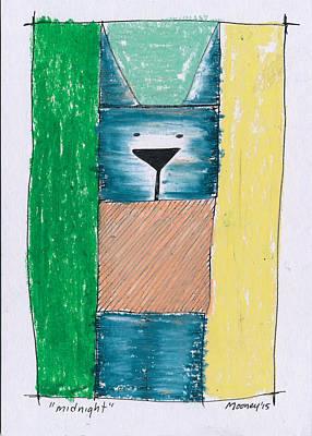 Midnight Art Print by Michael Mooney