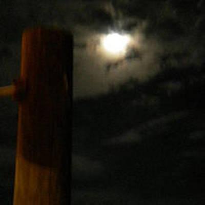 Painting - Midnight Moon by Renate Nadi Wesley