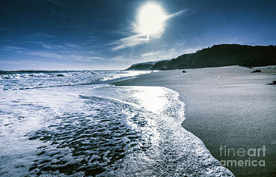 Midnight Ocean Fine Artwork Art Print by Jorgo Photography - Wall Art Gallery