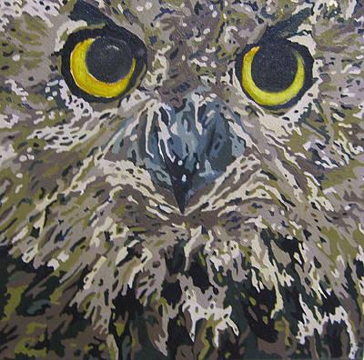 Midnight Prowler Original by Cheryl Bowman
