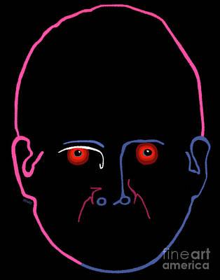 Midnight Rage Art Print