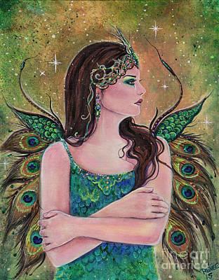 Midnight Rhapsody Art Print by Renee Lavoie