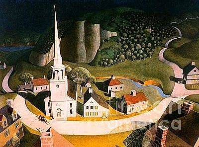 Midnight Ride Of Paul Revere Original by Frederick Holiday