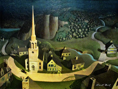 Photograph - Midnight Ride Of Paul Revere by Grant Wood