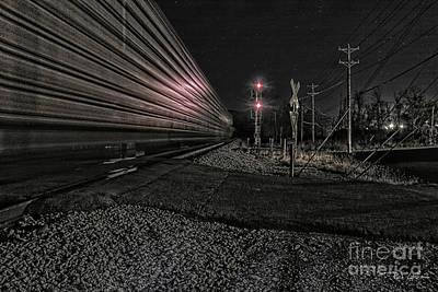 Photograph - Midnight Rider Ir by Rick Lipscomb