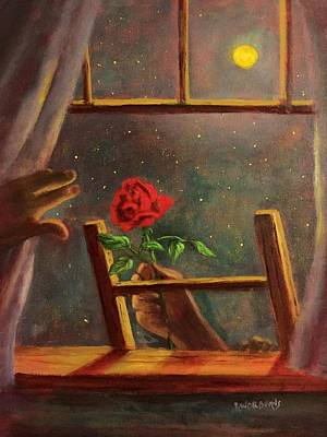 Painting - Midnight Romance by Randy Burns