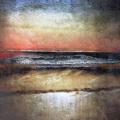Digital Art - Midnight Sands Gloucester by Sand And Chi