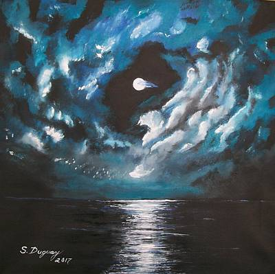 Painting - Midnight Shine  by Sharon Duguay