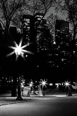 Light Photograph - Midnight Strolls by Az Jackson