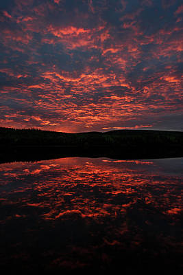 Photograph - Midnight Sun In Norbotten by Dan Vidal