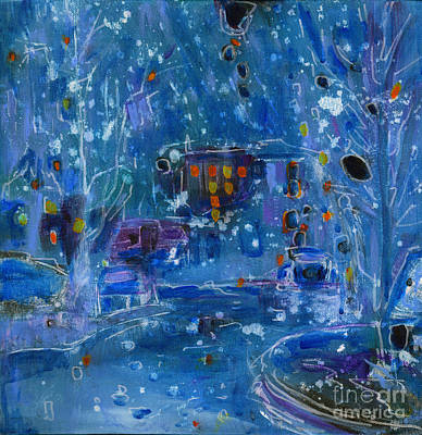 Coldplay Painting - Midnight  by Tanya Filichkin