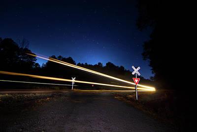 Photograph - Midnight Train To Georgia by Mark Andrew Thomas