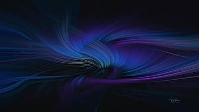 Digital Art - Midnight Vibes by Bill Posner