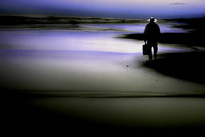 Art Print featuring the photograph Midnight Wanderer by Gray  Artus