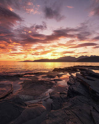 Colorful Photograph - Midnightsun Madness by Tor-Ivar Naess