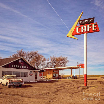 Photograph - Midpoint Cafe by Imagery by Charly