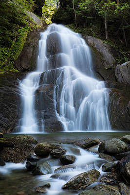Photograph - Midsummer At Moss Glen Falls by Alan L Graham