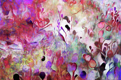 Digital Art - Midsummer Daydream by Susan Maxwell Schmidt