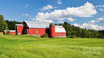 Photograph - Midsummer Farmscape by Alan L Graham