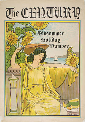 Midsummer Holiday Number Art Print by Celestial Images