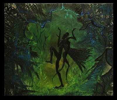 Midsummer Night Art Print by Zsuzsa Sedah Mathe