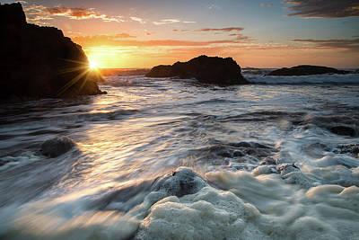 Photograph - Pescadero Sunset by Janet Kopper