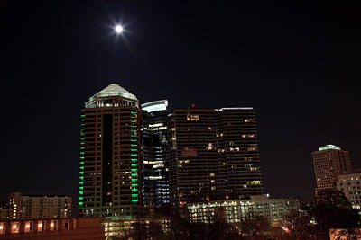 Photograph - Midtown Atlanta At Night by Jill Lang