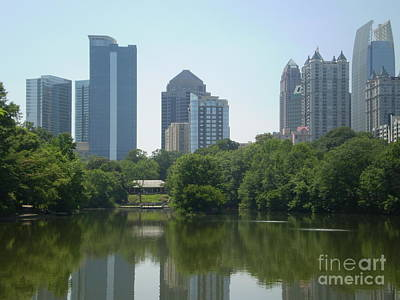 Photograph - Midtown Atlanta Skyline by Utopia Concepts