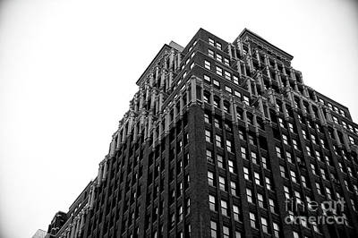 Photograph - Midtown Building Layers by John Rizzuto