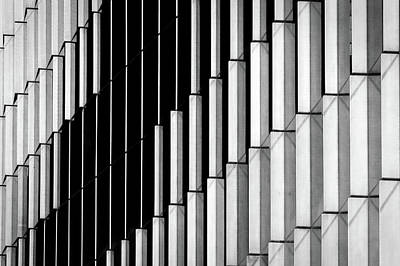 Photograph - Midtown Center Windows Abstract - Washington by Stuart Litoff