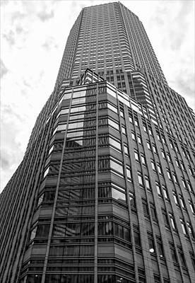 Midtown East Office Building Art Print by Robert Ullmann