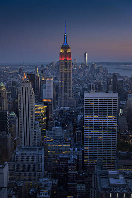 Skylines Royalty-Free and Rights-Managed Images - Midtown Freedom by Rick Berk